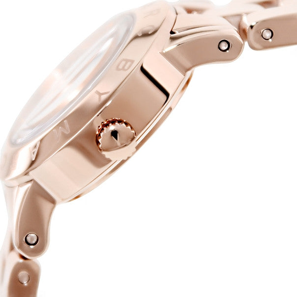 Amy Dexter Rose Dial Rose Gold-tone Ladies Watch