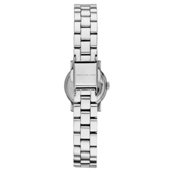 Henry Dinky Silver Dial Stainless Steel Ladies Watch