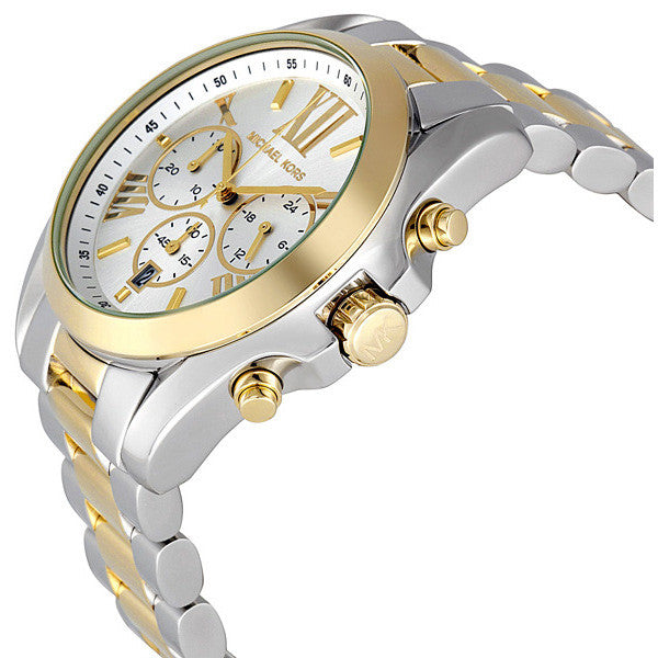 Bradshaw Chronograph Silver and Gold-tone Watch