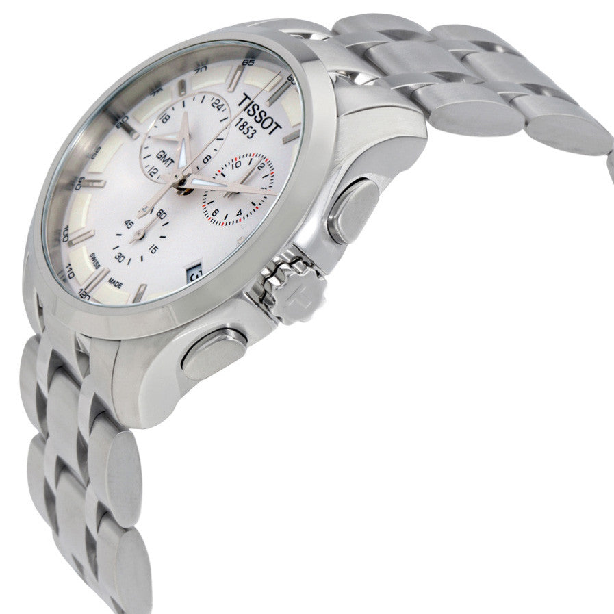 Couturier GMT Silver Dial Trend Men's Watch
