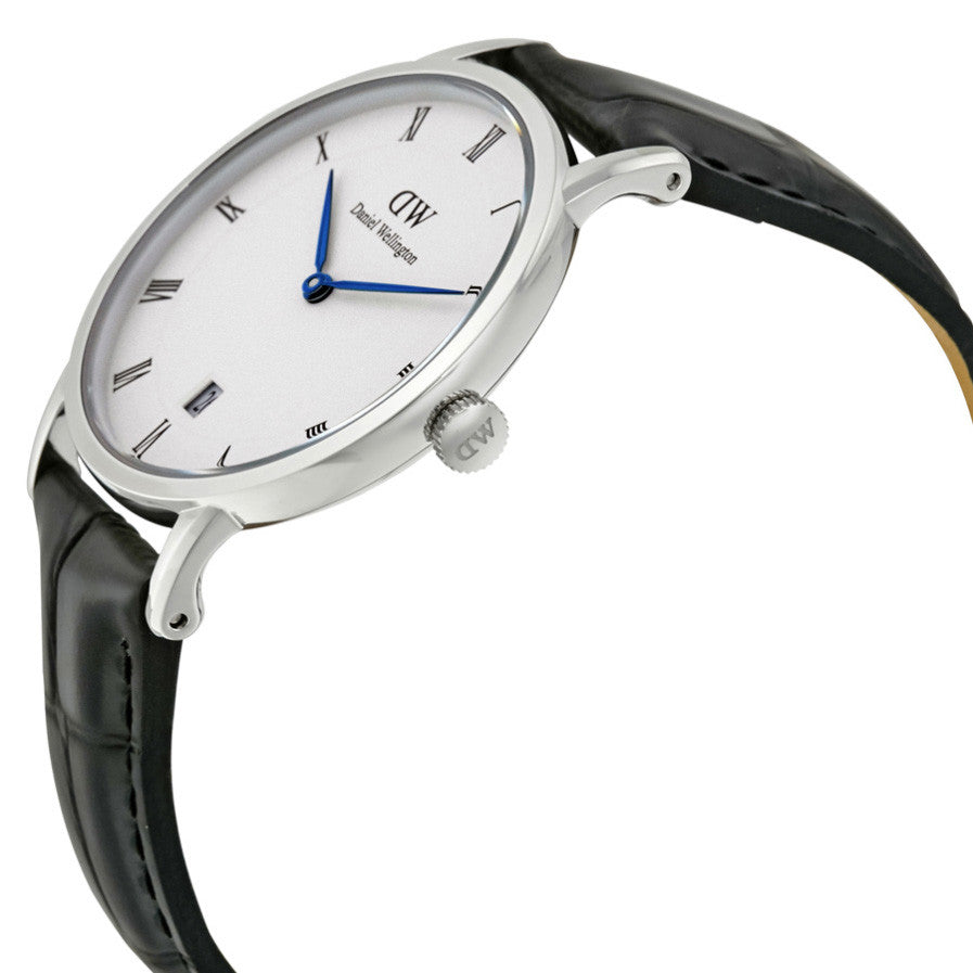 Dapper Reading Silver 34mm Ladies Watch