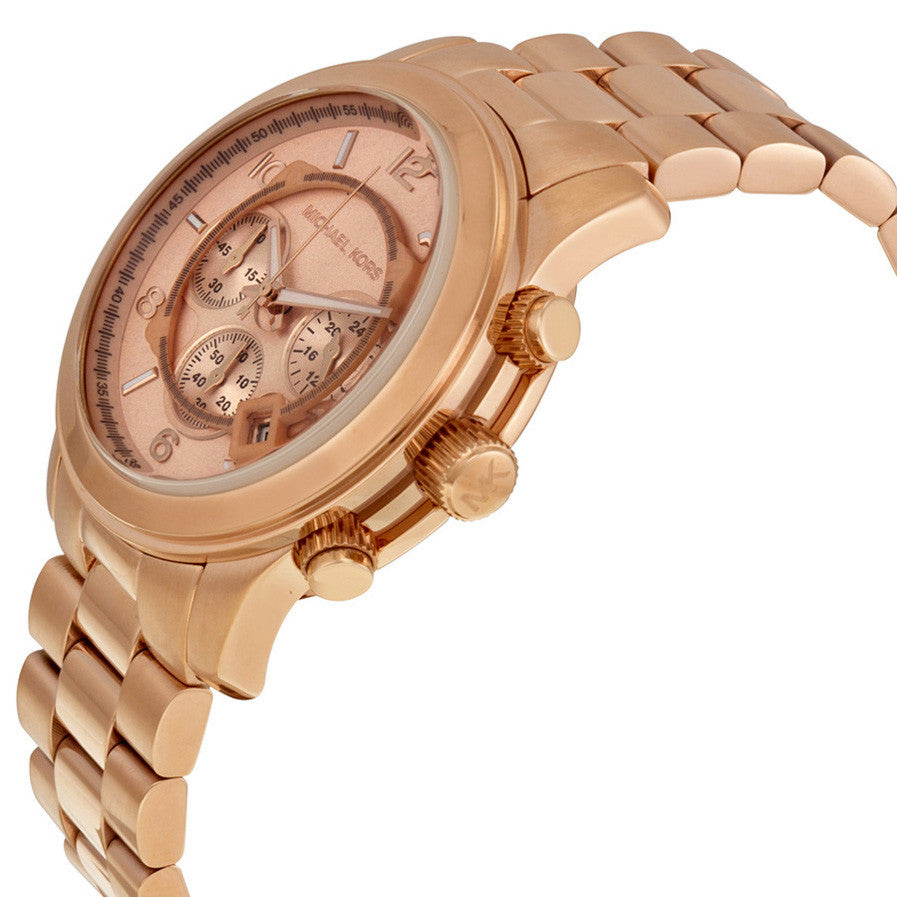 Runway Chronograph Rose Gold-tone Men's Watch