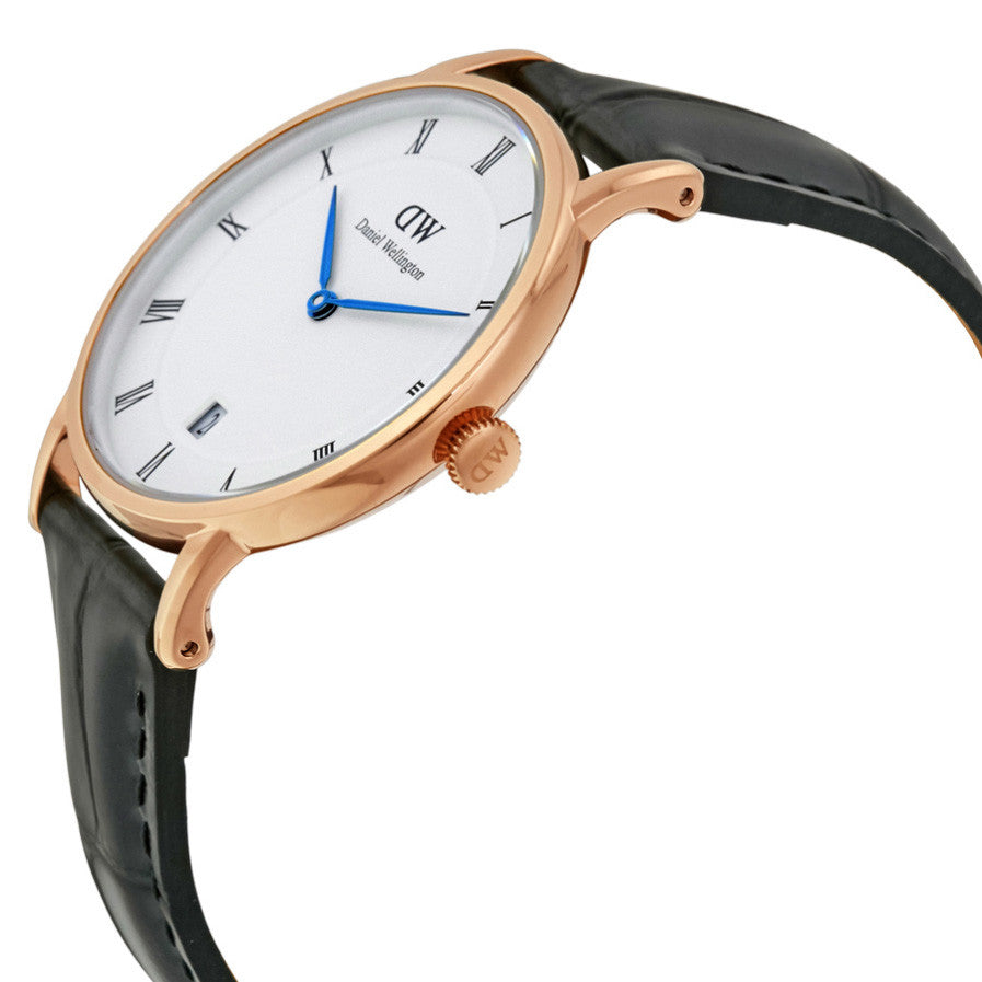 Dapper Reading Rose Gold 34mm Ladies Watch