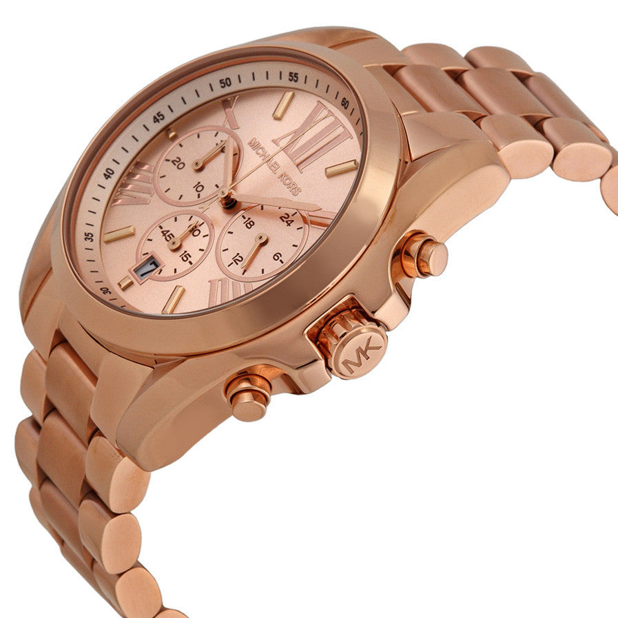 Bradshaw Chronograph Rose Gold-tone Watch