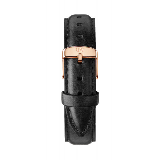 Classic Black Sheffield Rose Gold 36mm Ladies Watch
