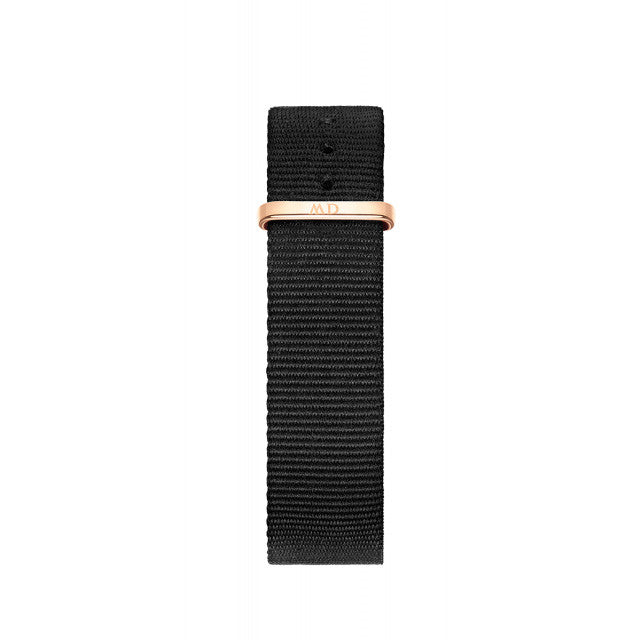 Classic Black Cornwall Rose Gold 36mm Ladies Watch