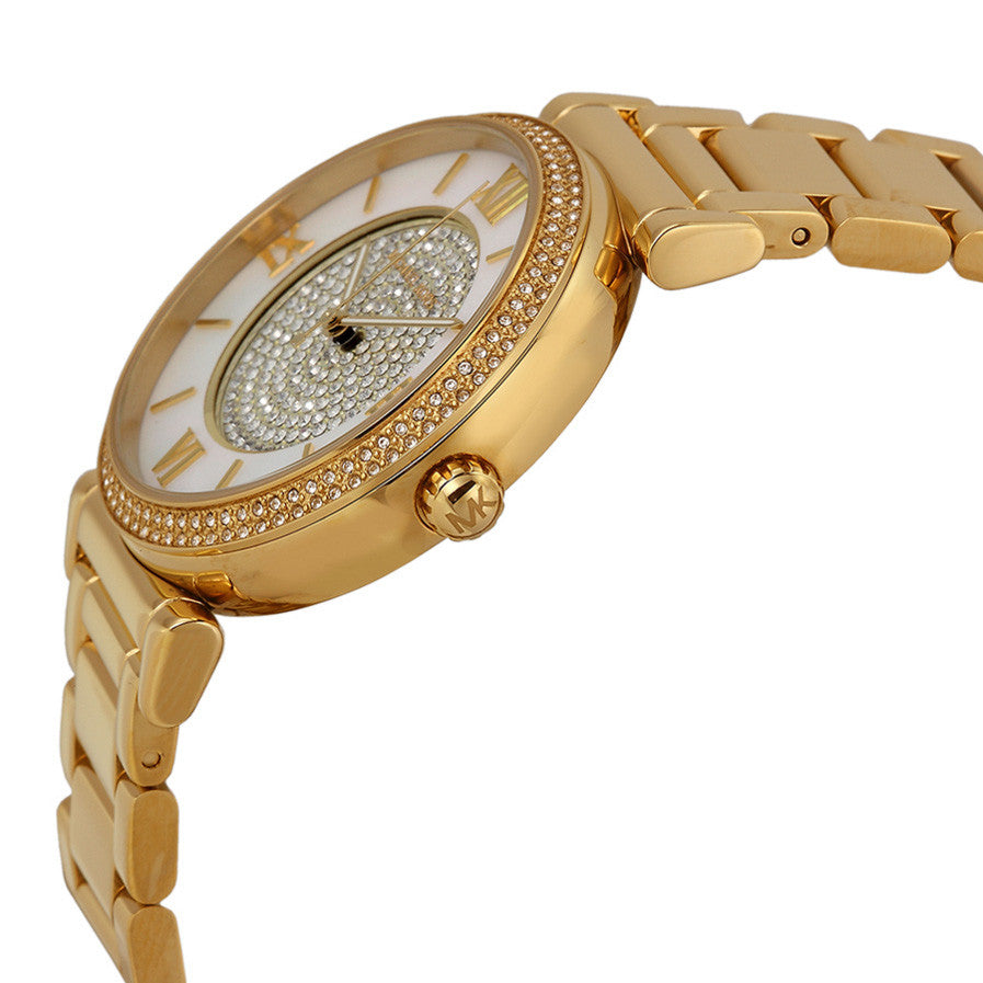 Catlin Mother of Pearl Dial Gold-plated Ladies Watch