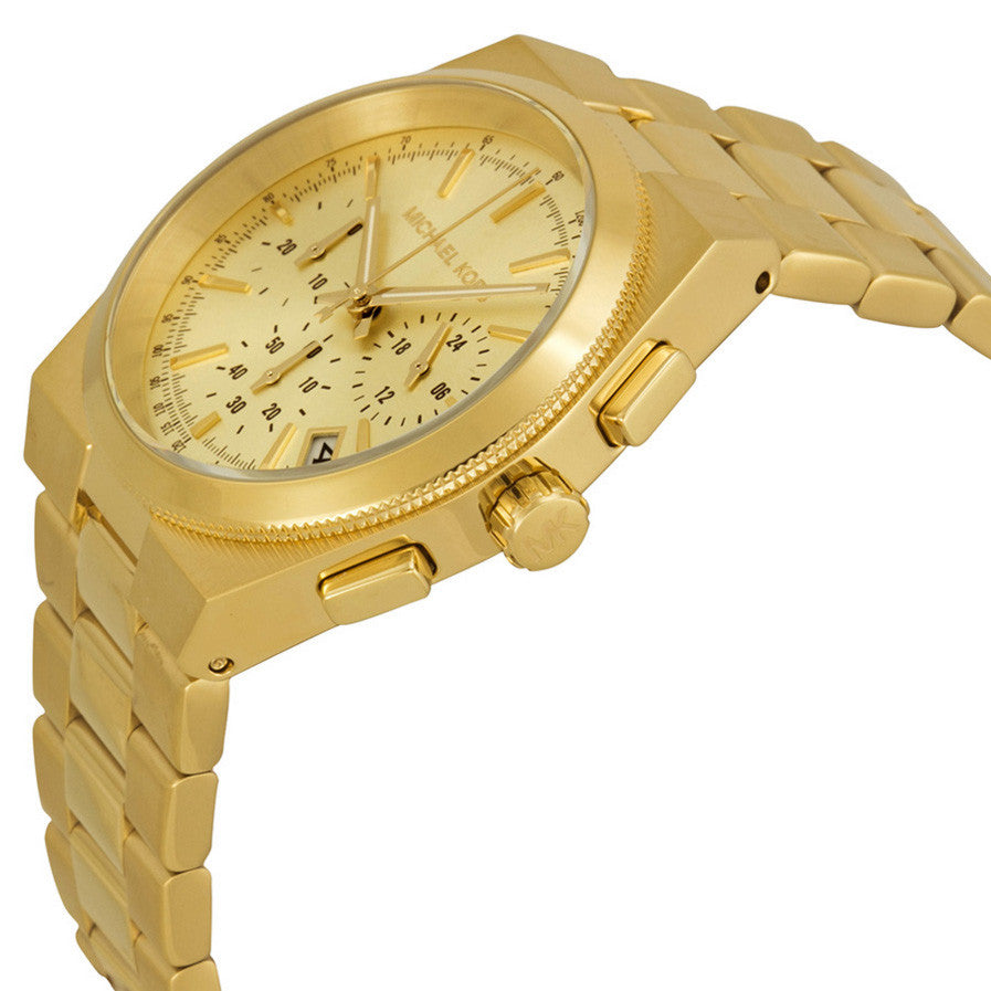 Channing Gold Dial Gold-tone Ladies Watch