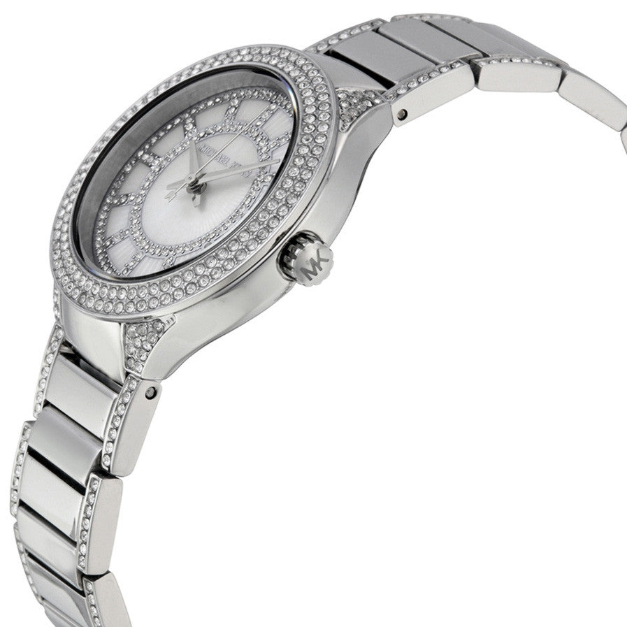 Mini Kerry Silver Dial Stainless Steel Ladies Watch
