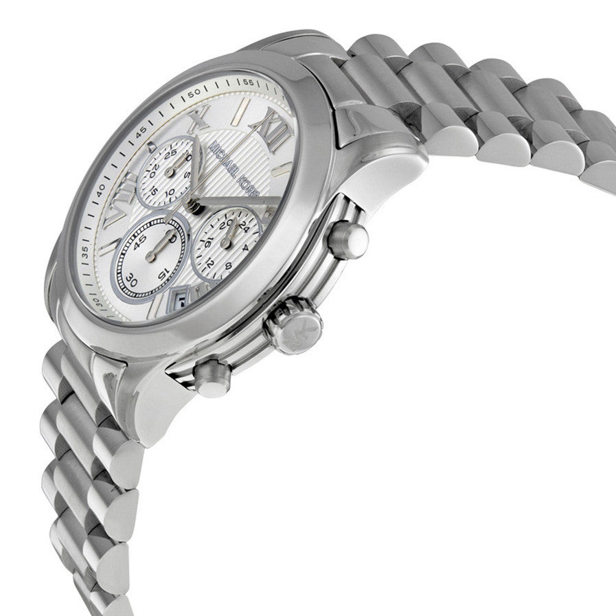 Cooper Chronograph Silver Dial Stainless Steel Ladies Watch