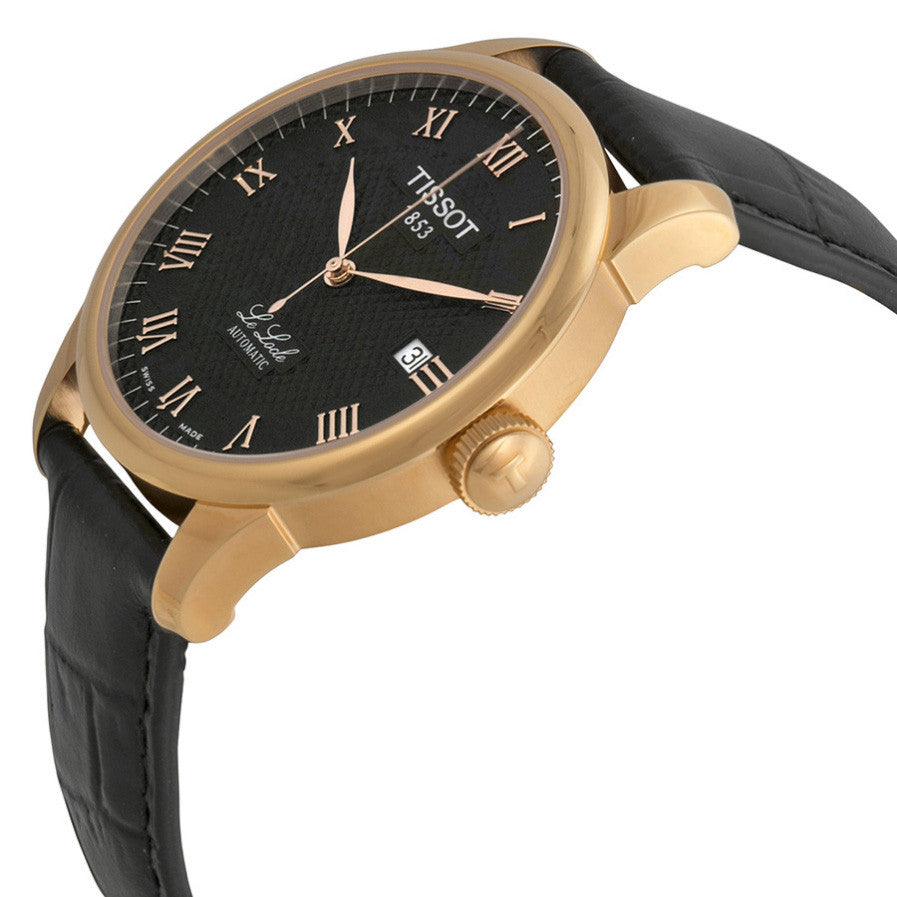 Le Locle Automatic Black Dial Men's Watch