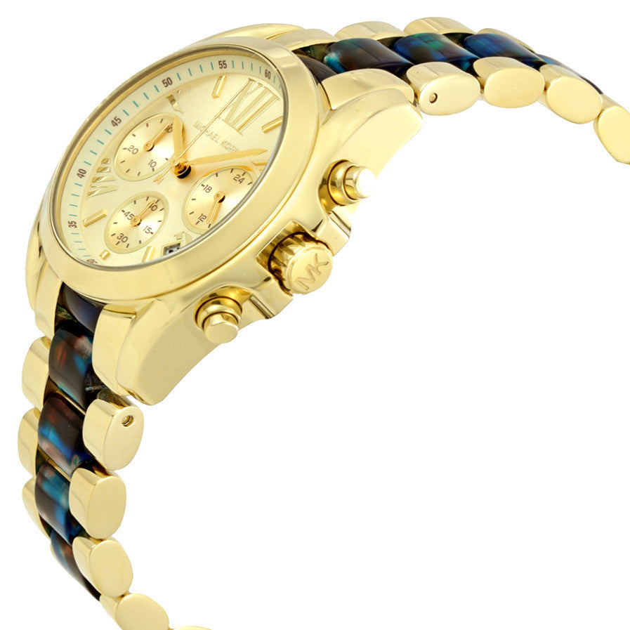 Bradshaw Chronograph Dial Gold-Tone Ladies Watch