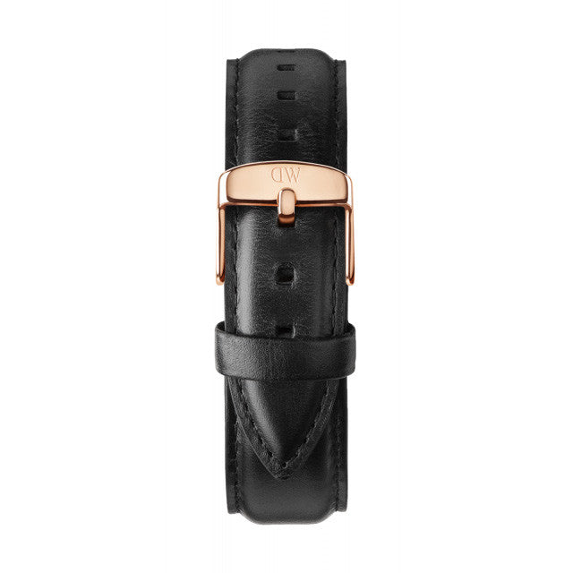 Classic Black Sheffield Rose Gold 40mm Men's Watch