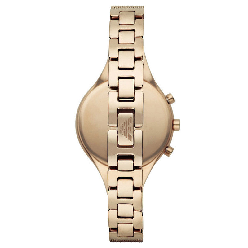 Dress Chronograph Mother Of Pearl Dial Ladies Watch