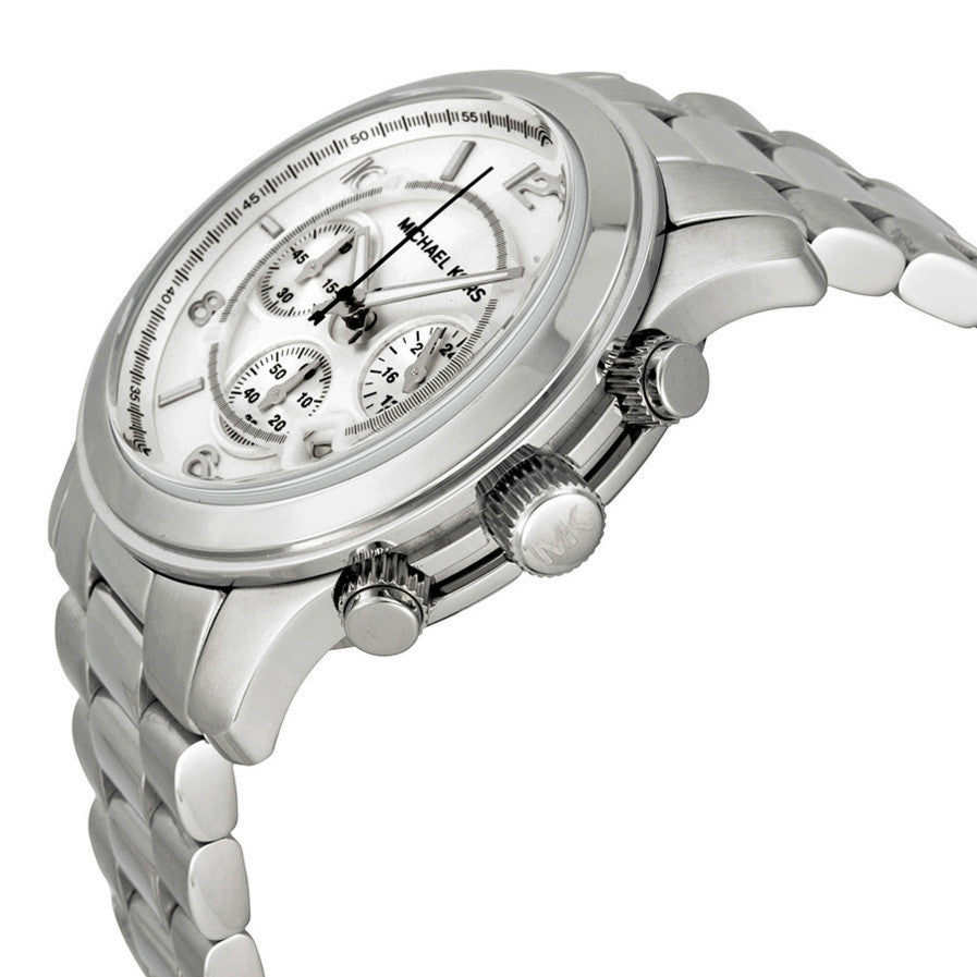 Silver Oversized Runway Watch