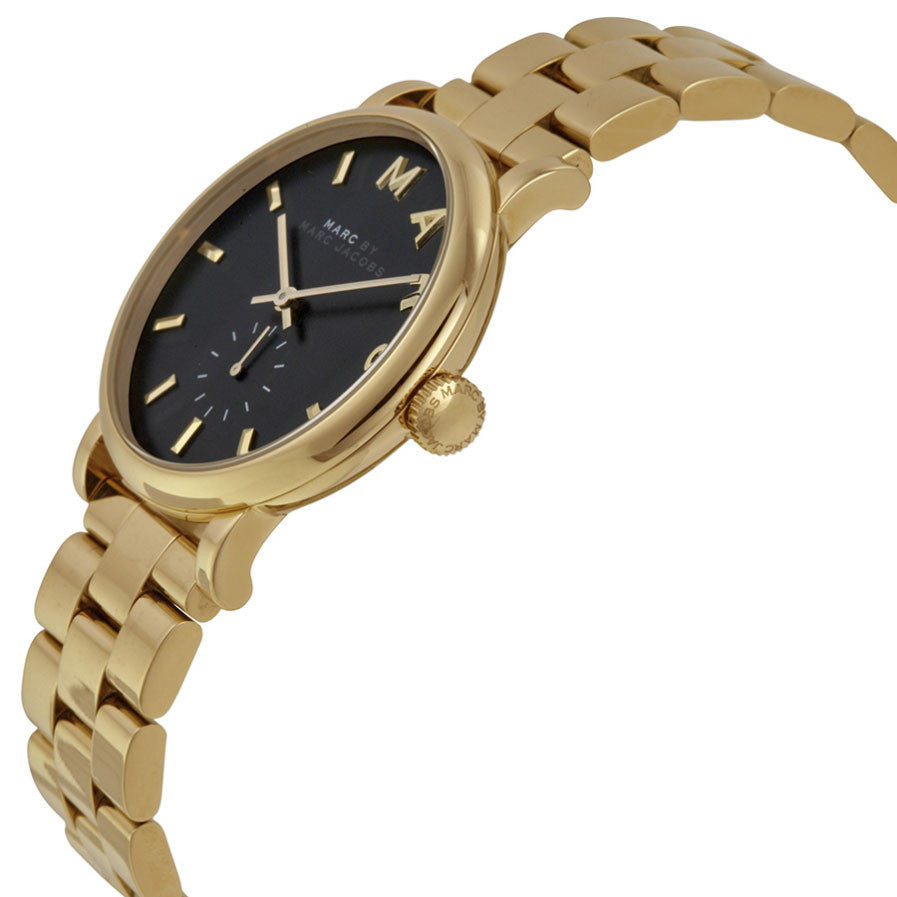 Baker Green Dial Gold-tone Ladies Watch