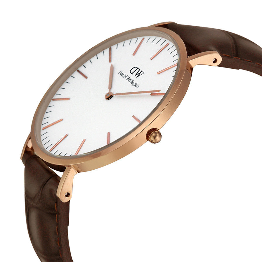 Classic York Rose Gold 40mm Men's Watch
