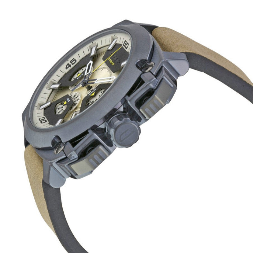 BAMF Taupe Dial Chronograph Men's Watch