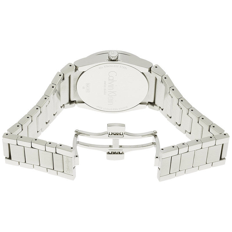 Step White Dial Stainless Steel Ladies' Watch