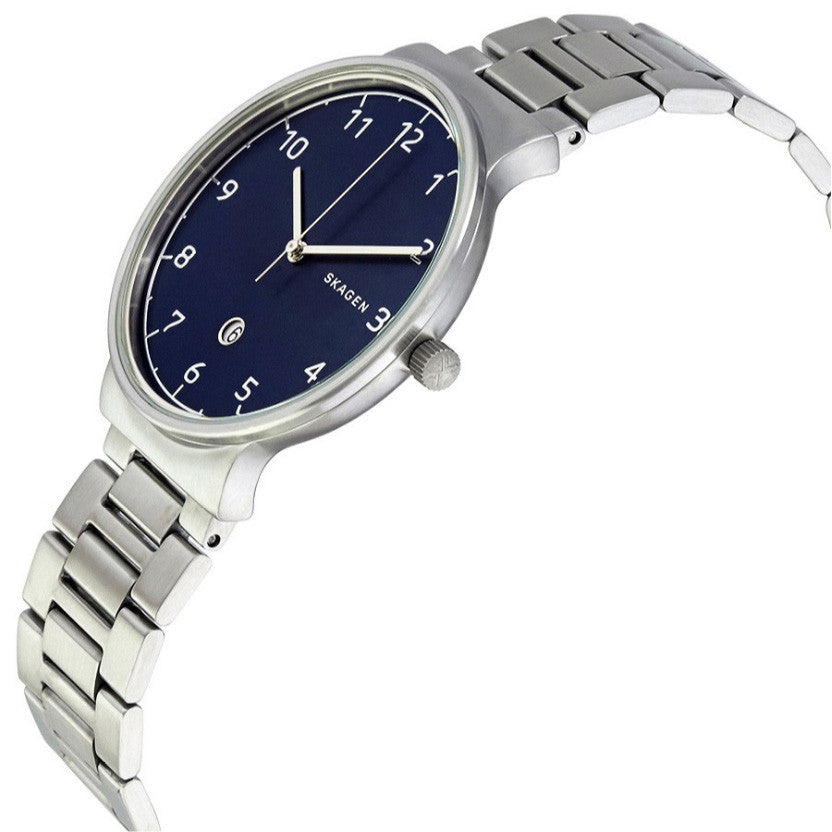 Ancher Blue Dial Men's Watch