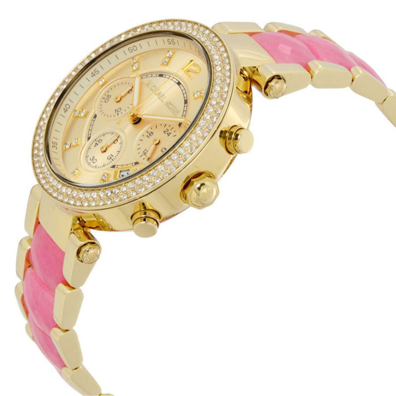 Parker Chronograph Two-tone Ladies Watch