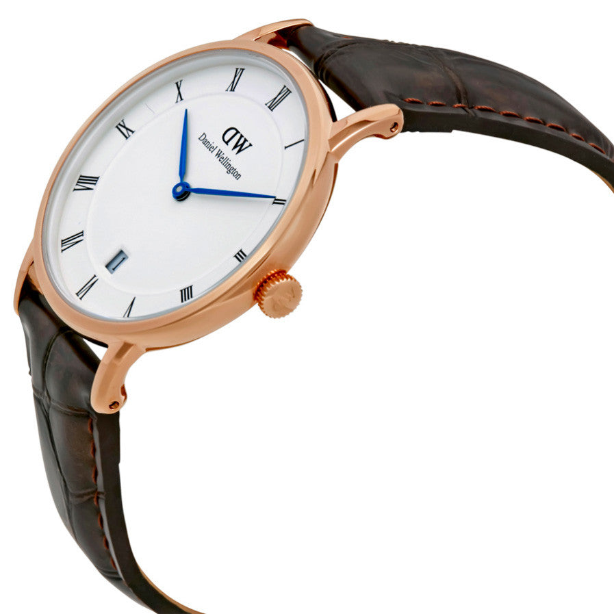 Dapper York Rose Gold 34mm Ladies Watch