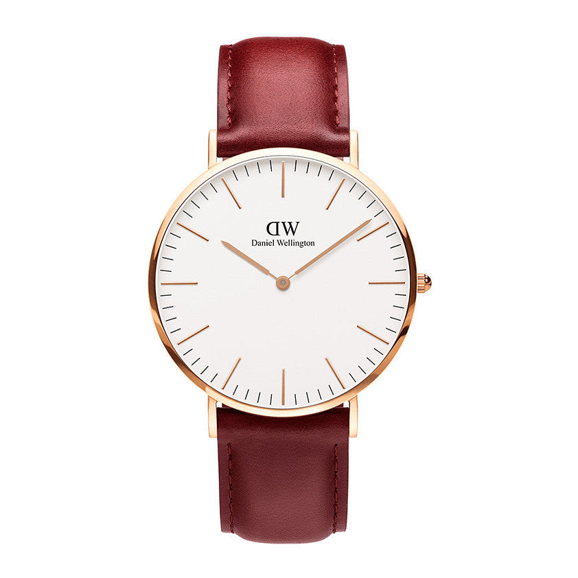Classic Suffolk Rose Gold 36mm Ladies Watch