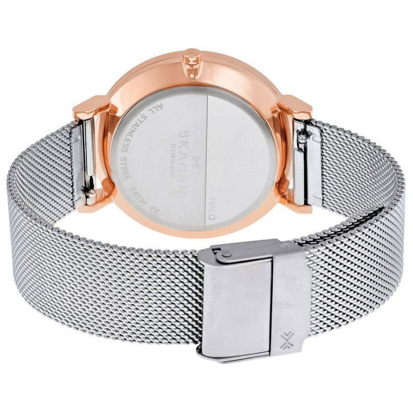 Hald Silver Two Tone Stainless Steel Ladies Watch