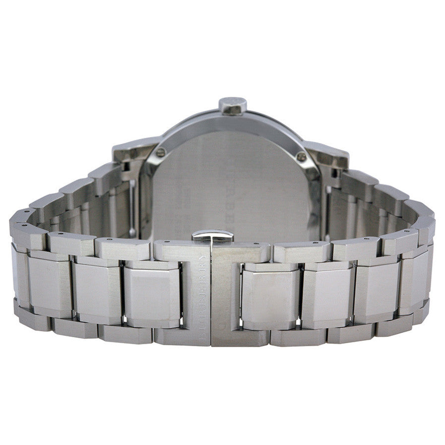 The City Silver Dial Stainless Steel Unisex Watch