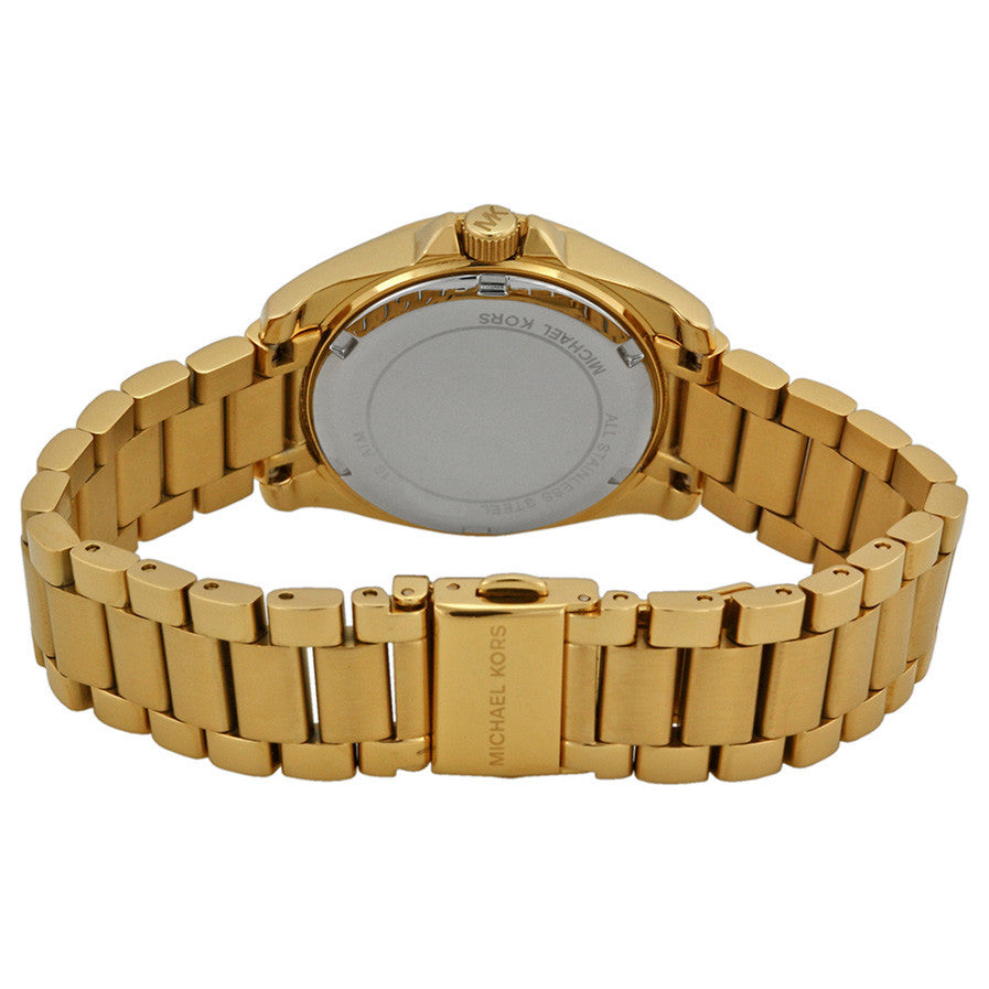 Blair Gold Dial Gold-tone Stainless Steel Ladies Watch