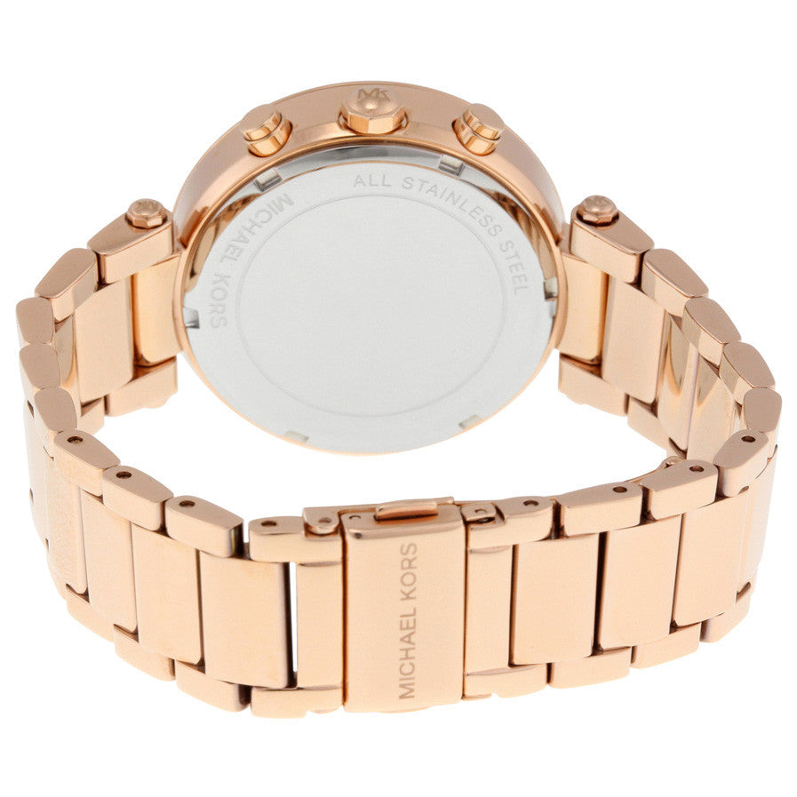 Parker Chronograph Rose Gold-tone Ladies Watch