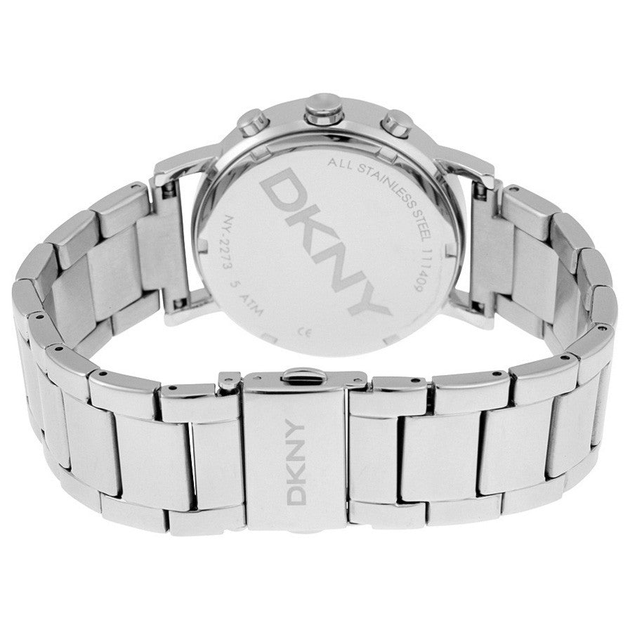 Soho Silver Dial Stainless Steel Ladies Watch