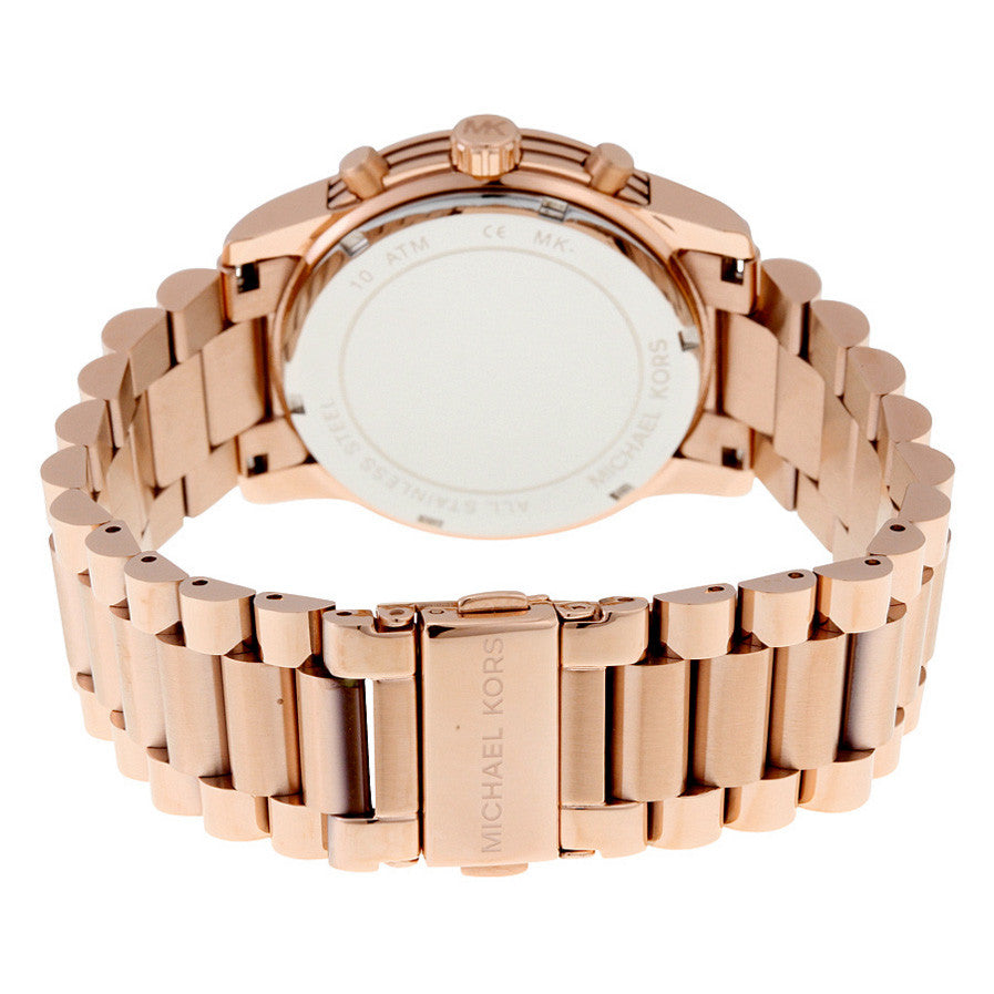 Cooper Chronograph Rose Gold-Tone Stainless Steel Ladies Watch