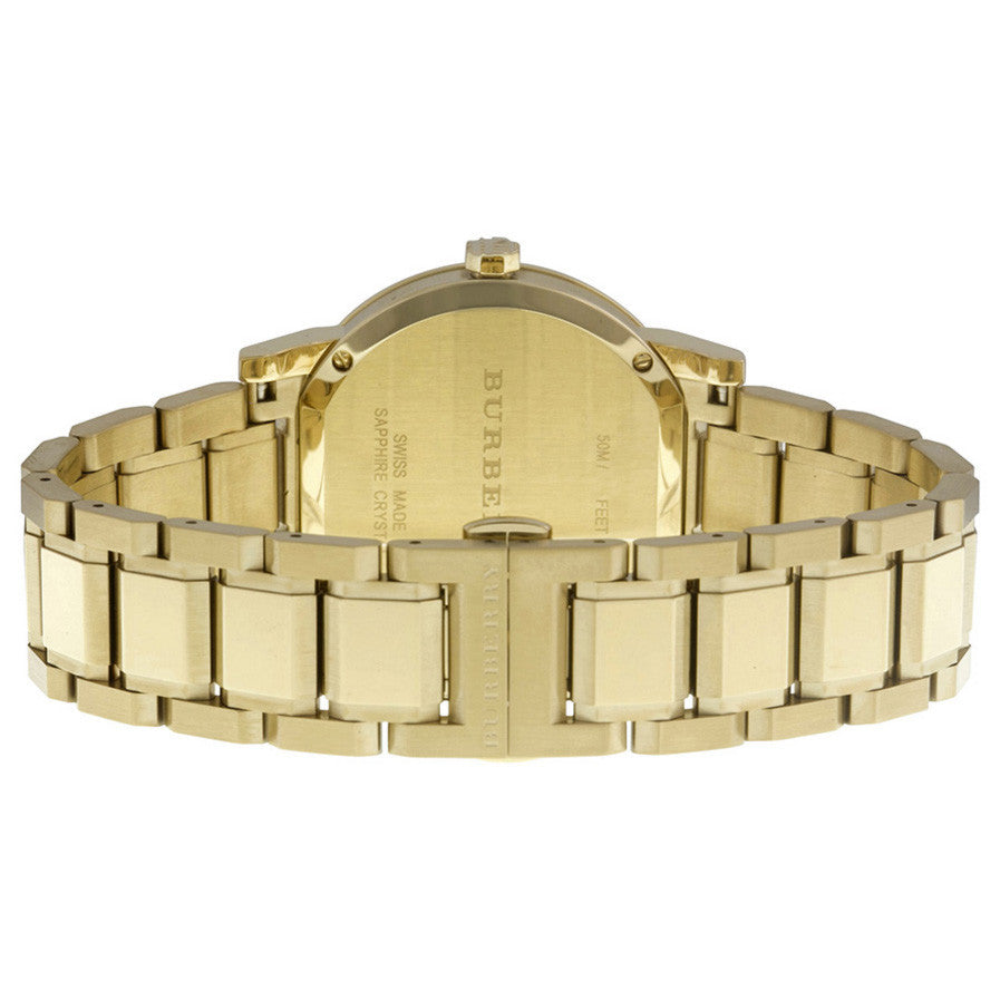 The City Gold Dial Gold-tone Unisex Watch