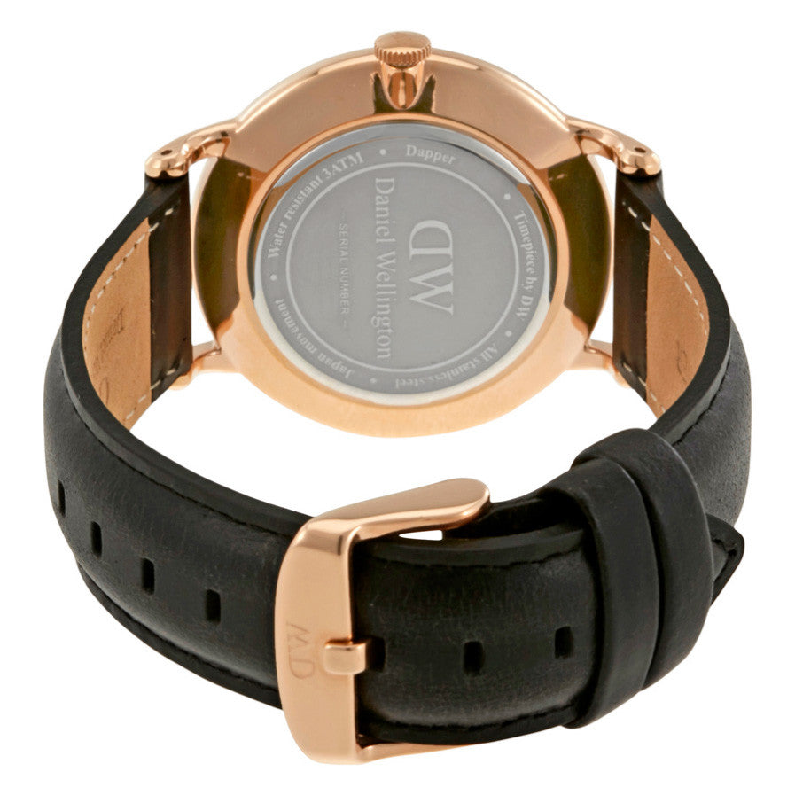 Dapper Sheffield Rose Gold 38mm Men's Watch