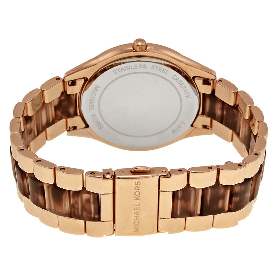 Runway Rose Gold-tone Stainless Steel Ladies Watch