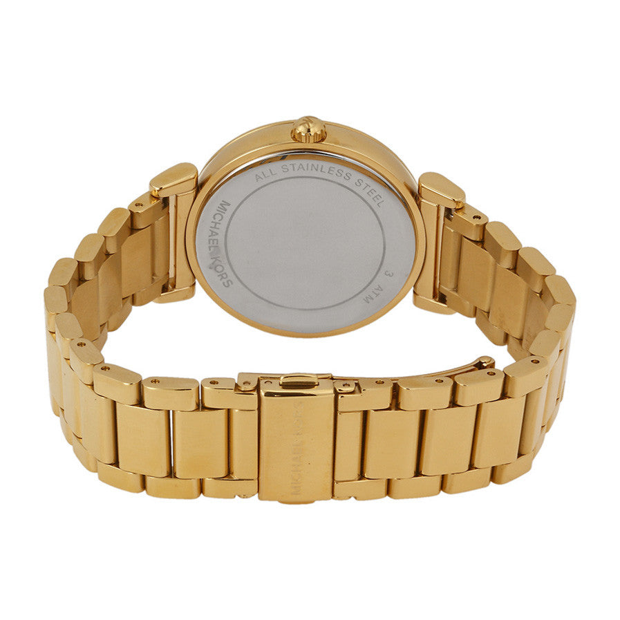 088181ef836e Michael Kors MK3332 Catlin Mother of Pearl Dial Gold-plated Ladies ...