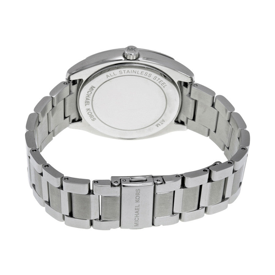 Bryn Silver Dial Stainless Steel Ladies Watch