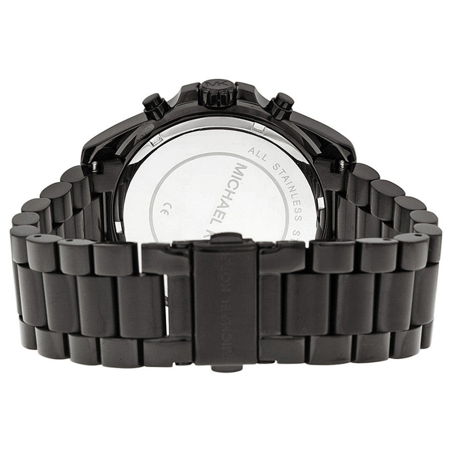 Bradshaw Chronograph Black Dial Black Ion-plated Unisex Watch