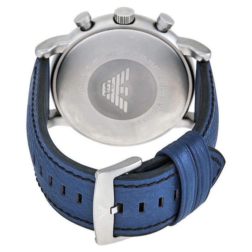 Luigi Chronograph Blue Dial Men's Watch