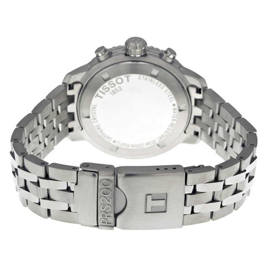 PRS 200 Silver Dial Chronograph Stainless Steel Bracelet Men's Watch