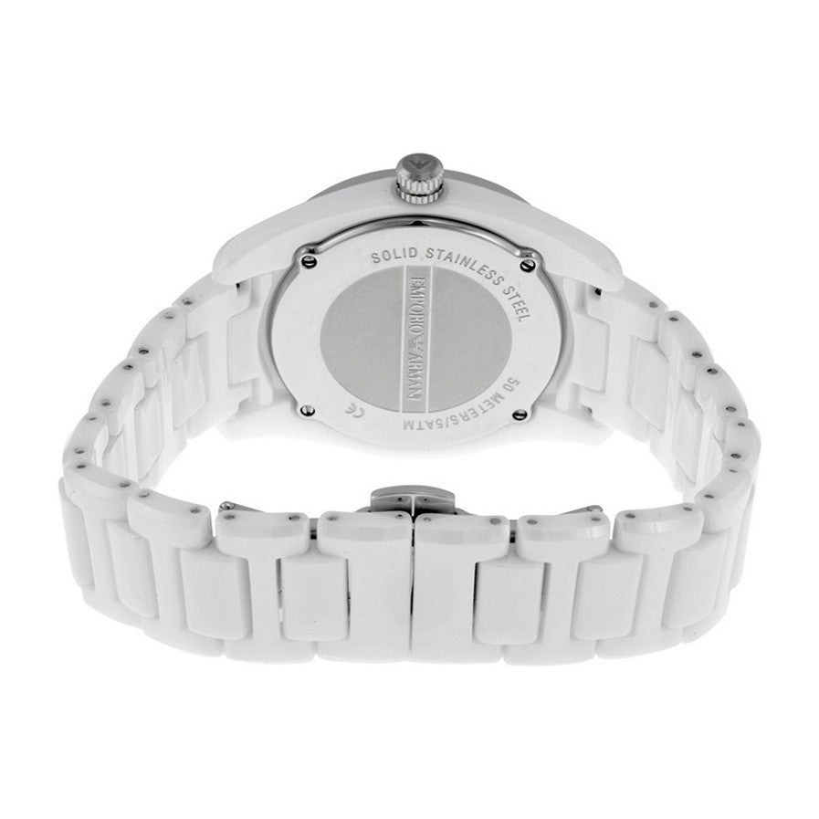 Ceramica Mother Of Pearl Dial White Ceramic Quartz Ladies Watch