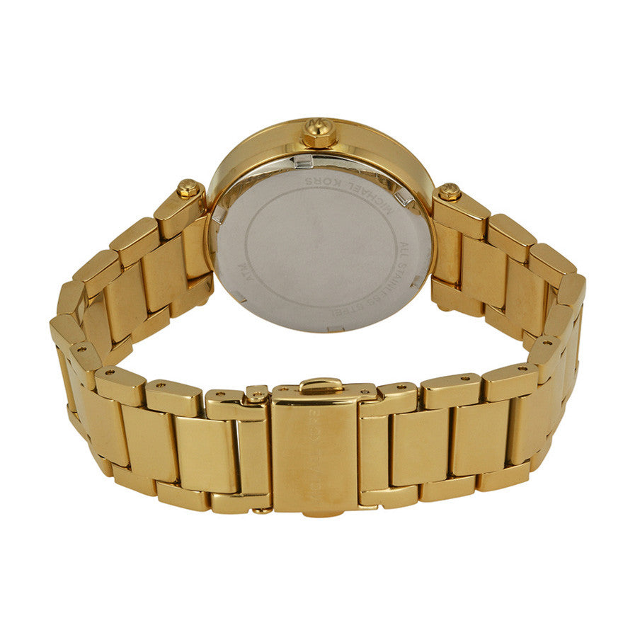 Mini Parker Gold Glitz Dial Steel Ladies Watch