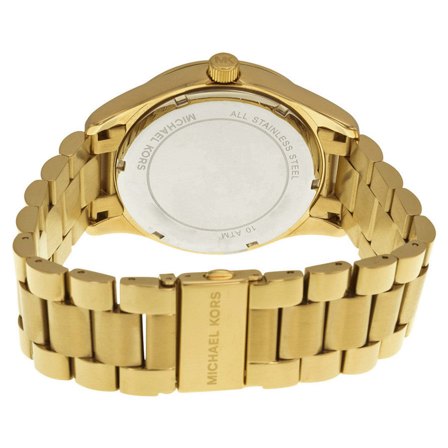 Layton Watch Pave-Embellished Engraved Map Women's Watch