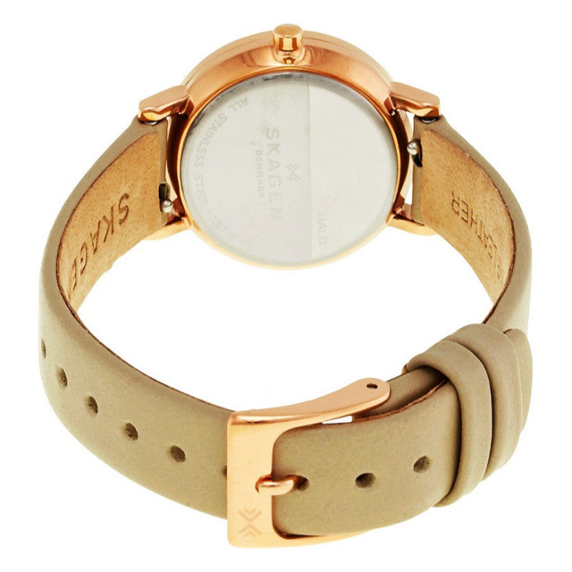 Hald White Dial Ladies Watch