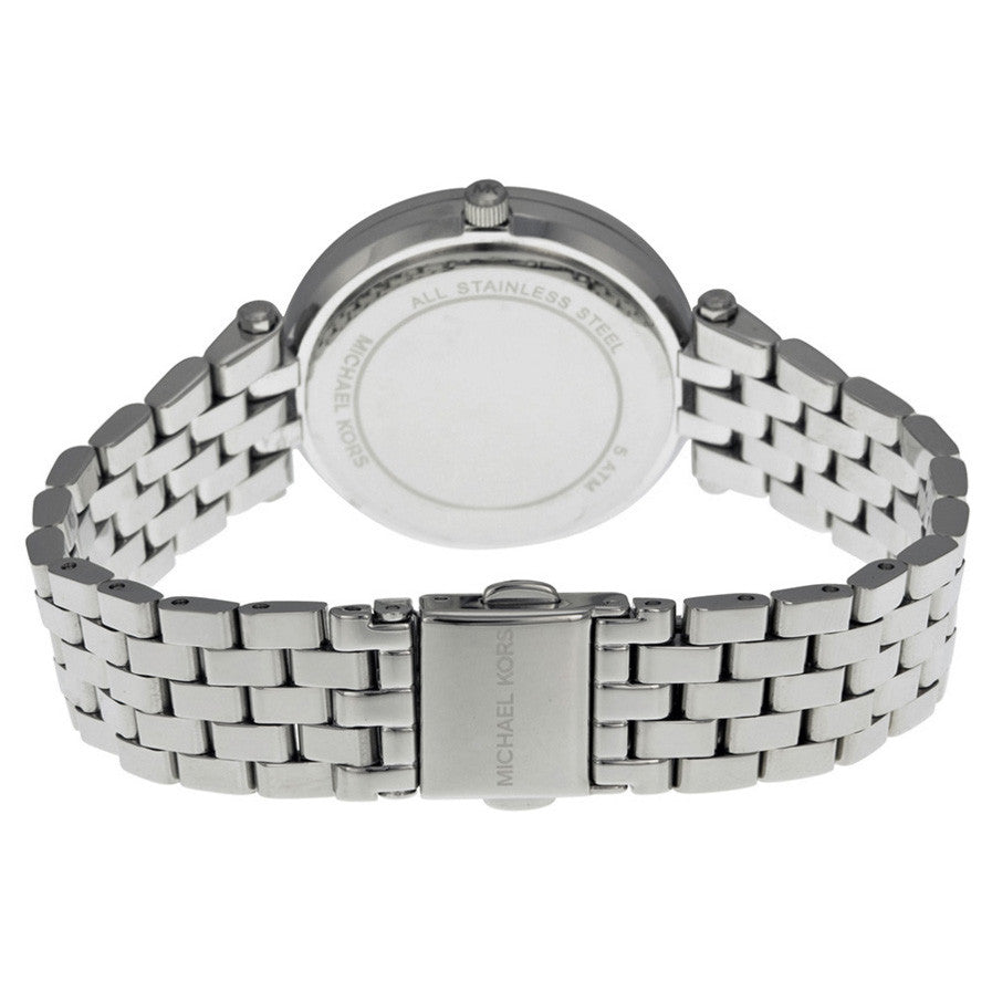 Petite Darci Silver Dial Steel Ladies Watch
