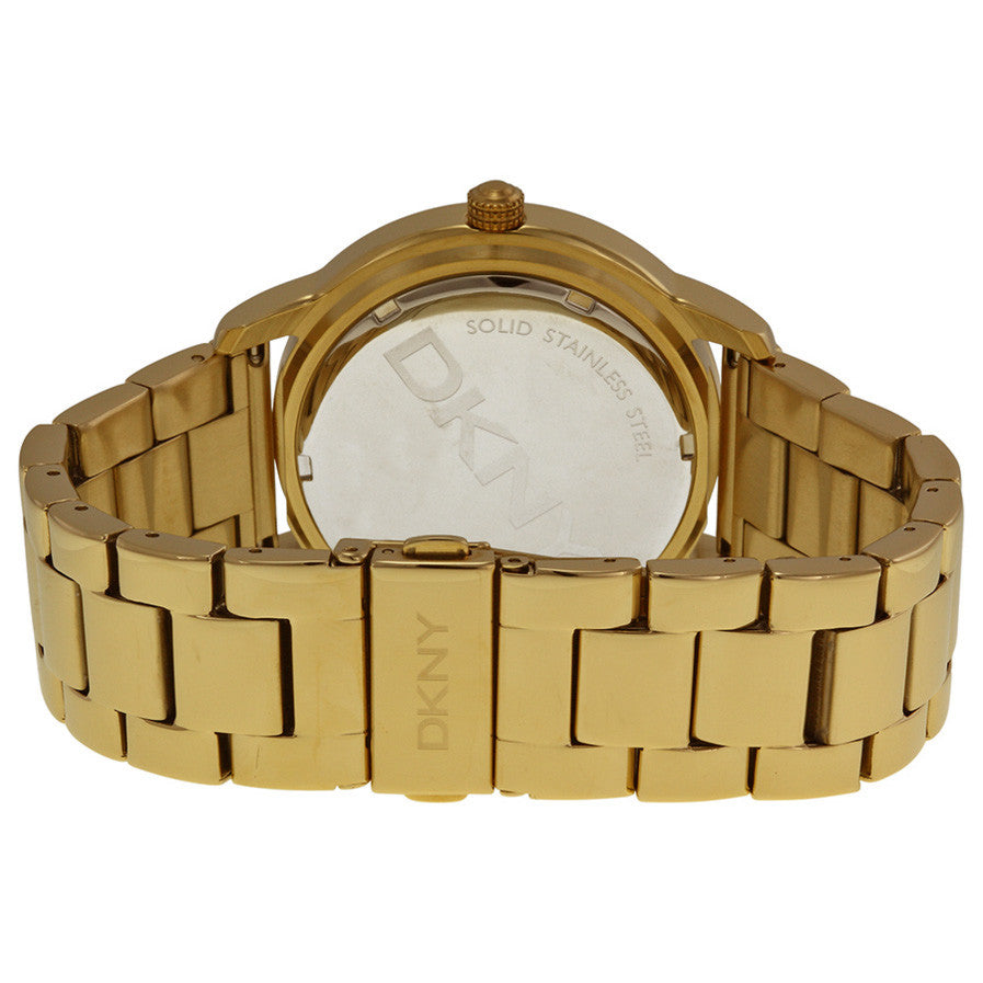 Gold-tone Dial Gold-tone Stainless Steel Bracelet Ladies Watch