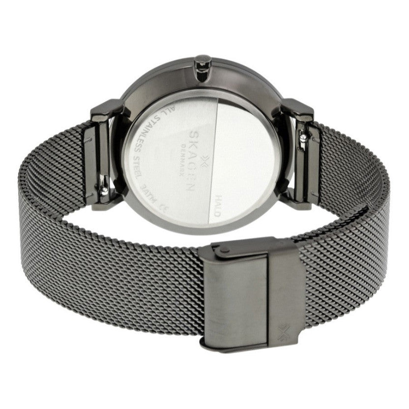 Hald Grey Dial Gunmetal PVD Ladies Watch