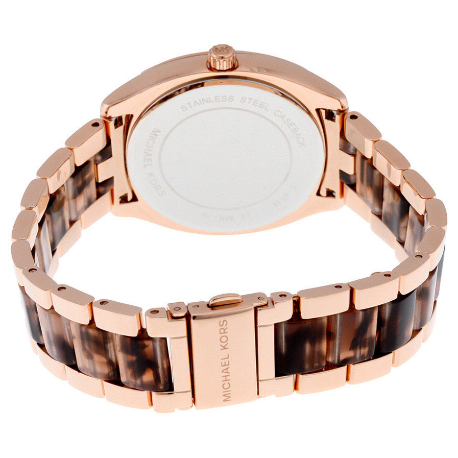 Bryn Rose Gold-Tone Dial Two Tone Ladies Watch