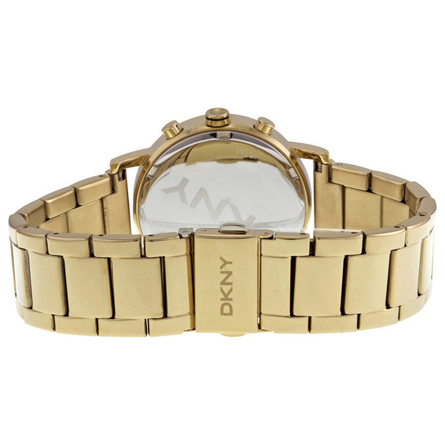 SoHo White Dial Gold-tone Stainless Steel Bracelet Ladies Watch